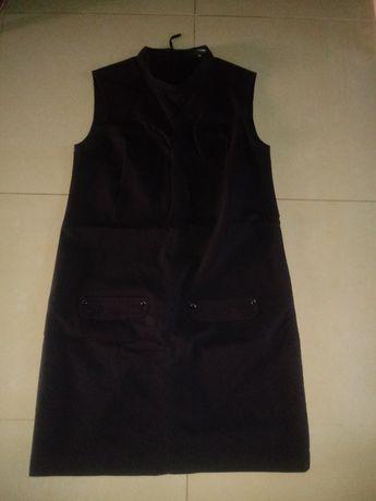 Sukienka czarna Reserved, r. 38