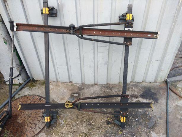 Dois porta Bicicletas + barras de tejadilho