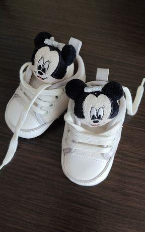 Детские пинетки кросовки