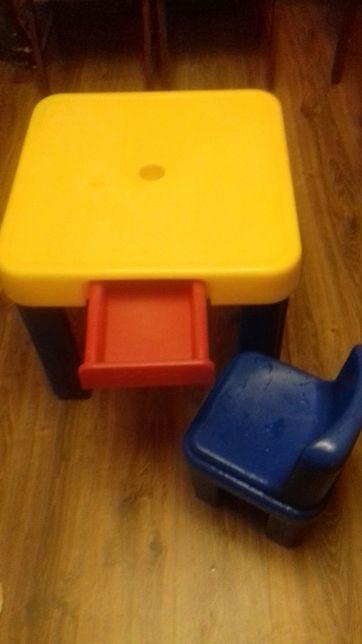 Неубиваемый детский стол и стул