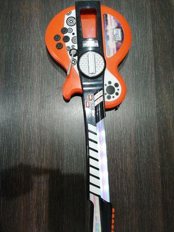 Grająca gitara elektryczna dla dziecka