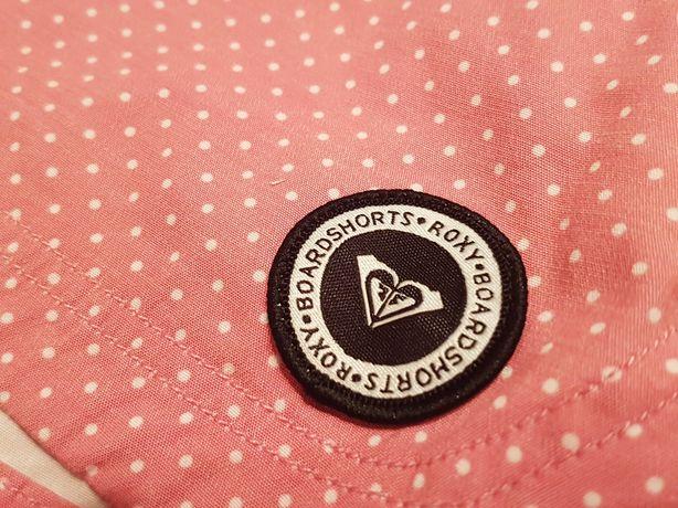 Roxy BOARDSHORTS szorty XS biodrówki, groszki, róż