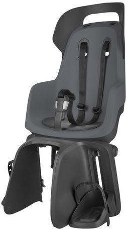 Fotelik rowerowy mocowany na bagażnik Go Bobike / Macaron Grey