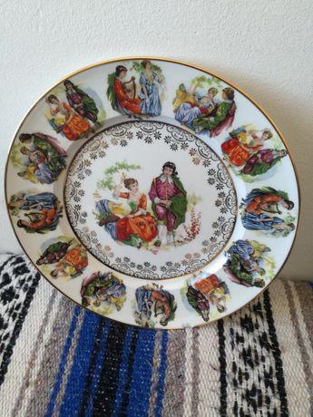 Prato de porcelana Gloria Bayreuth