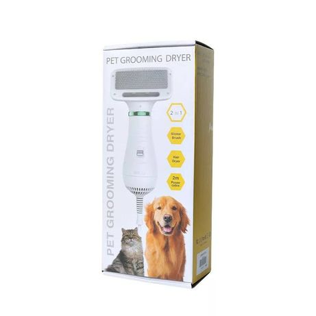Escova e secador para animais