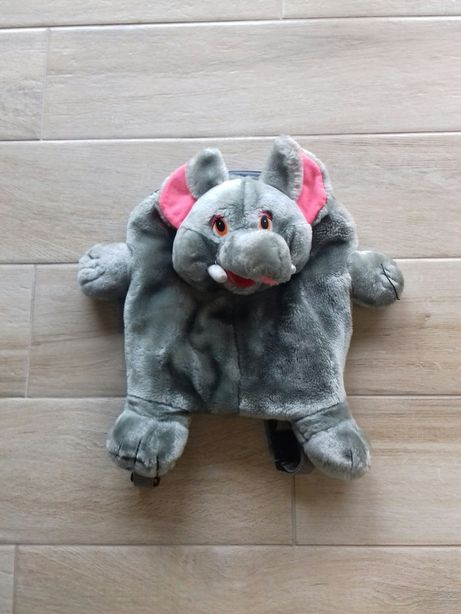 Pluszowy plecak słoń