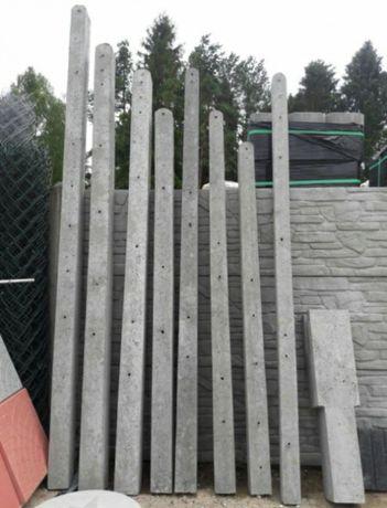 Słupek betonowy ogrodzeniowy słupki betonowe
