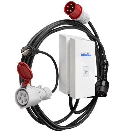 Зарядная станция OnCharger Type2 32A 22kW tesla eqc taycan e-tron zoe