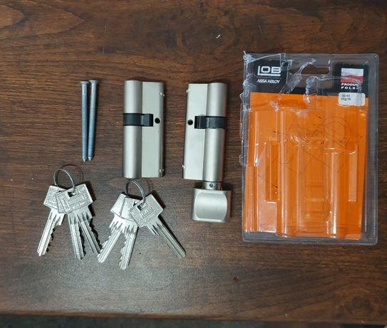 Dwie wkładki na jeden klucz 30x45 LOB HEKTOR