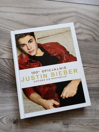 Książka Justin Bieber 100% oficjalnie