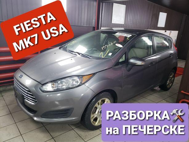 Ford FIESTA 1.6 mk7 USA Разборка Компрессор Балка Коллектор Рейка Руль