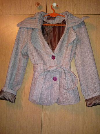 Płaszczyk płaszcz wiosna jodełka M 38