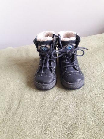 Lasocki trzewiki buty zimowe kozaki r. 21