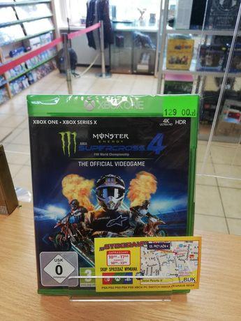 XBOX Monster Energy Supercross 4 Nowa Xbox One S X Series X