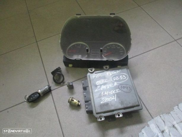 kit Centralina 3S6112A650LC FORD / FUSION / 2004 / 1.4 TDCI / SIEMENS /