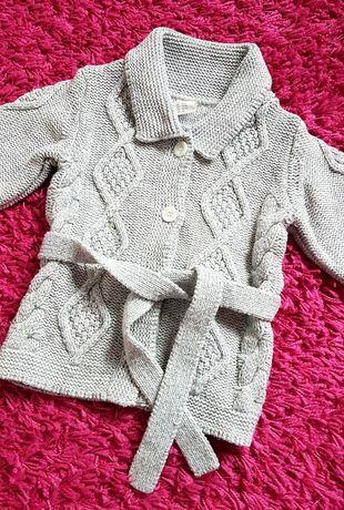 Sweter ciepły H&M 92 Stan IDEALNY