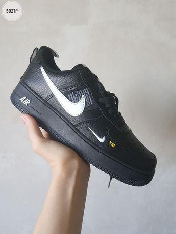 Мужские кроссовки Nike Air Force Low! 41-45! Кожа!