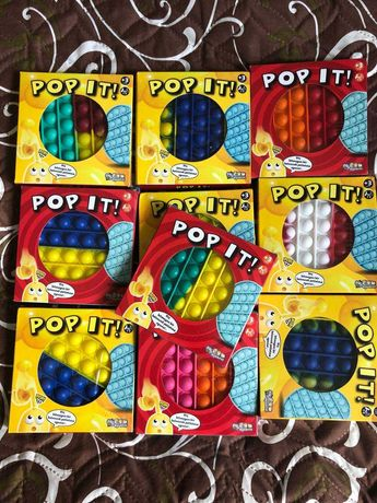 Поп ит Pop It Пупырышки антистресс Вечная Пупырка игрушка для детей