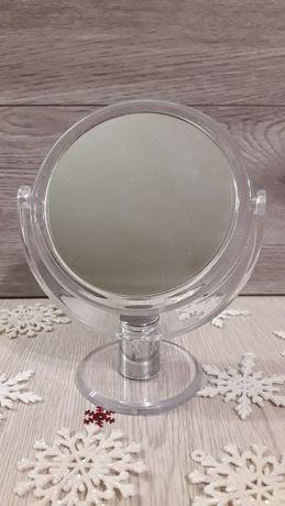 Зеркало двухстороннее косметическое НОВОЕ / дзеркало косметичне