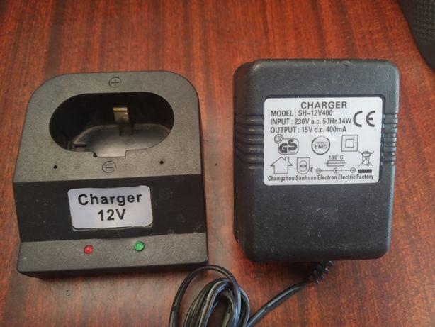 Блок 12v 400mA зарядное для аккумуляторов на шуруповёрт
