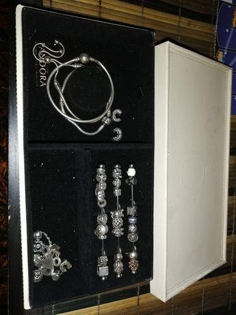Pandora coleção contas e pendentes