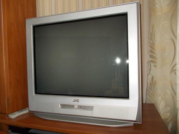 Telewizor JVC 29 cali i Dekoder DVB-T TV naziemna Ariva T65 pilot BDB
