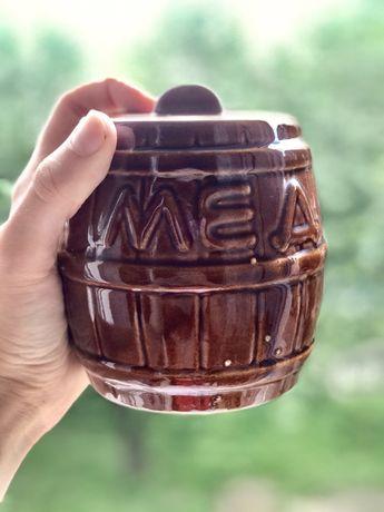 Бочонок керамический  «Мед»