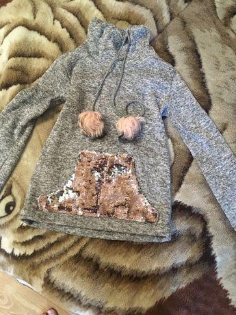 Красивый свитерок на девочку