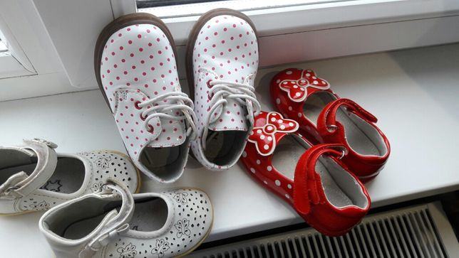 Взуття на дівчинку 120грн за пару