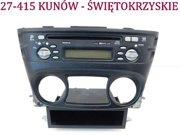 Radio CD Nissan Almera II N16 Lift na płyty fabryczne