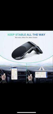 Uchwyt magnetyczny do telefonu do auta iPhone Samsung Xiaomi komórka