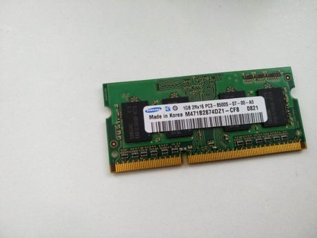 Оперативка ОЗУ Samsung 1GB DDR3