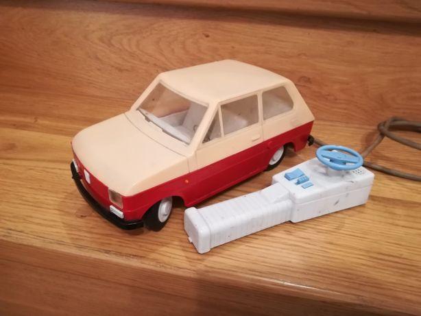 Czz sinol Fiat 126 zabawka Prl