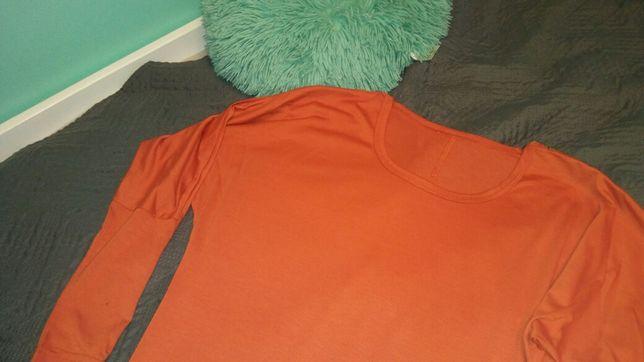 Bluzka ciazowa ruda M