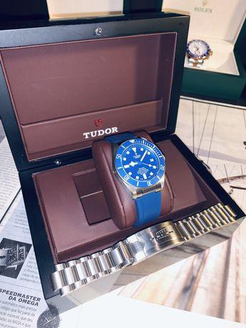 Tudor Pelagos 25600TN XF V3 Titanium Blue Dial Swiss 5612
