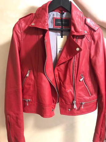 Шкіряна куртка  кожаная куртка Oakwood