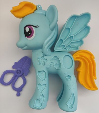 My little pony Hasbro, из набора Стильный салон с пластилином Playdoh