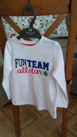 top/T-shirt/bluzka z długim rękawem 86/92, Mother Care 12-18 miesięcy