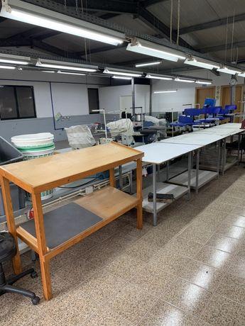 Maquinas e material de fabrica de calçado
