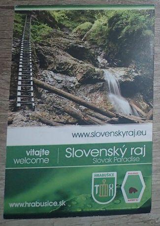 Bilet kolekcjonerski: Słowacki Raj - Slovensky Raj
