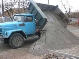 Песок щебень отсев чернозем керамзит все районы доставка
