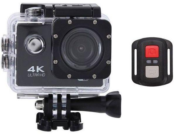 Máquina Filmar desportiva estilo GoPro 4K com controlo remoto