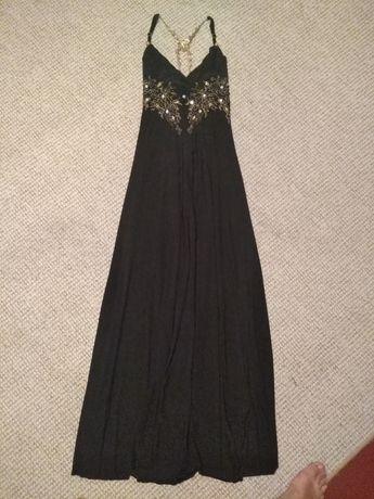 Вечернее платье для фотосессии 42-44р, с вышивкой, камнями