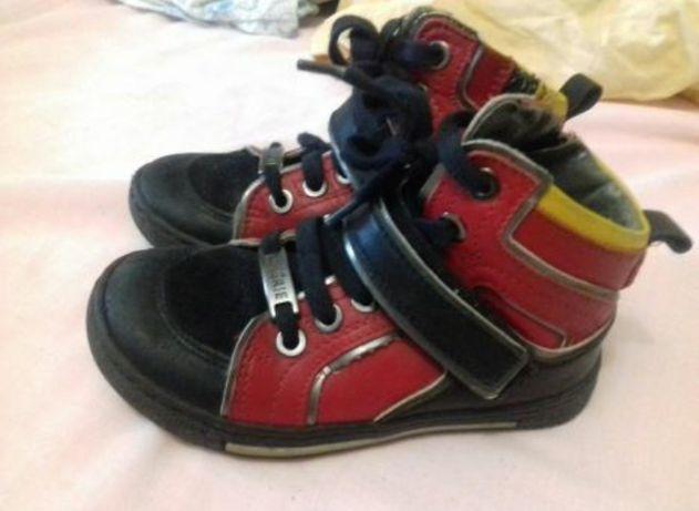 Ботинки кожаные (25 р.)