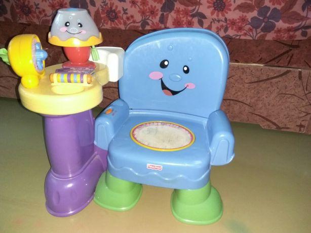 Интерактивный музыкальный стульчик(800 рублей)