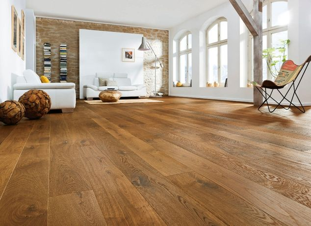 Podłoga Drewniana Deska Podłogowa Dąb Cognac 13x150/180 XXL PRODUCENT