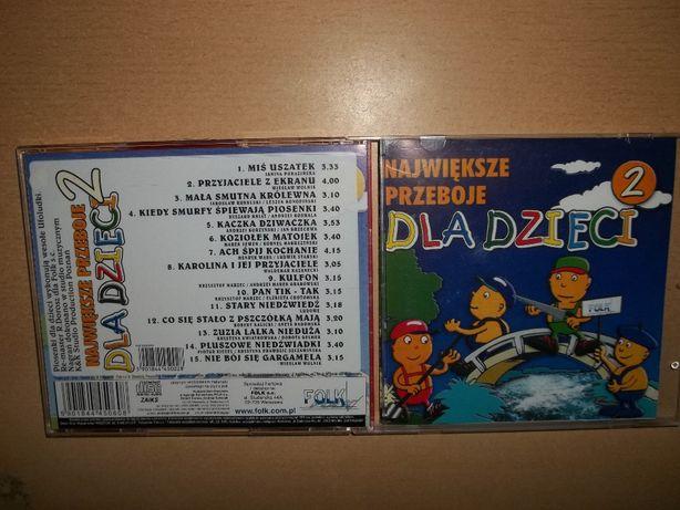 Piosenki dla dzieci na płycie CD Smerfy, Zuzia lalka nie duża, Tik Tak