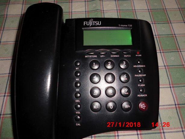 telefone de teclas para ligar á linha