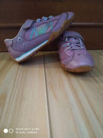 Buty, buciki, adidasy, świecące dziewczęce Clarks Cica 28-29 ( 10,5)