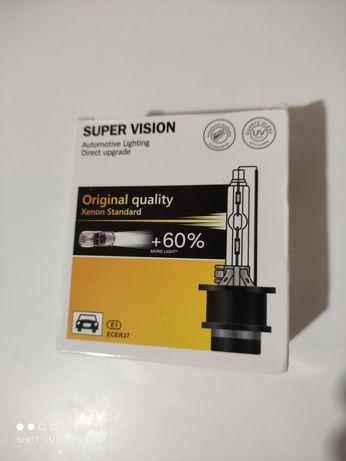 Лампа ксенон D2S 5000K 35W +60% Super Vision